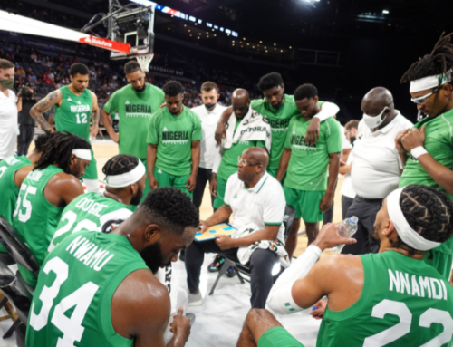 NIGERIAN NATIONAL BASKETBALL TEAM ANNOUNCES 12-MAN OLYMPIC ROSTER & STAFF