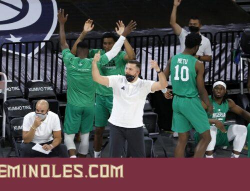 Luke Loucks: Olympic Experience With Nigerian Basketball Team